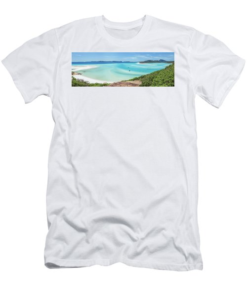 Men's T-Shirt (Slim Fit) featuring the photograph Hill Inlet Lookout by Az Jackson