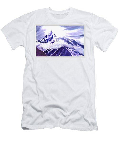 Himalaya Men's T-Shirt (Slim Fit) by Anil Nene