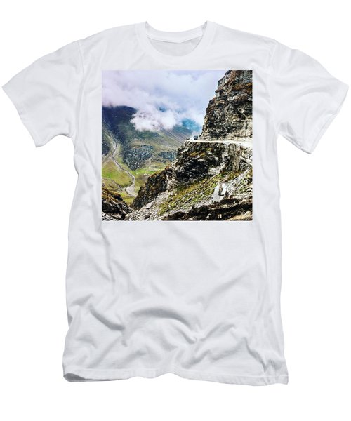Himalayan Roads Are Good For Your Men's T-Shirt (Athletic Fit)