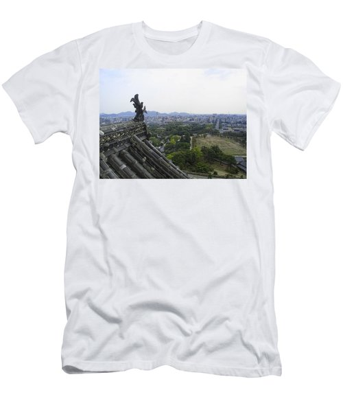 Himeji City From Shogun's Castle Men's T-Shirt (Athletic Fit)