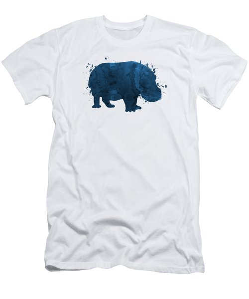 Hippo Men's T-Shirt (Athletic Fit)