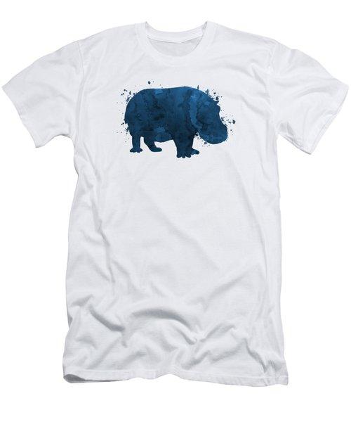 Hippo Men's T-Shirt (Athletic Fit)