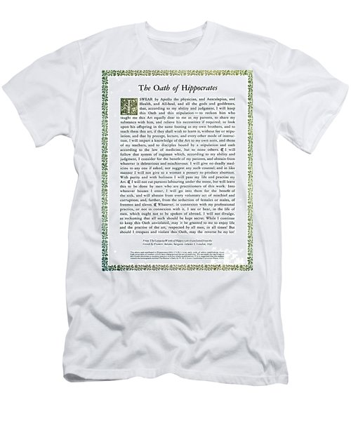 Hippocratic Oath, 1938 Men's T-Shirt (Athletic Fit)