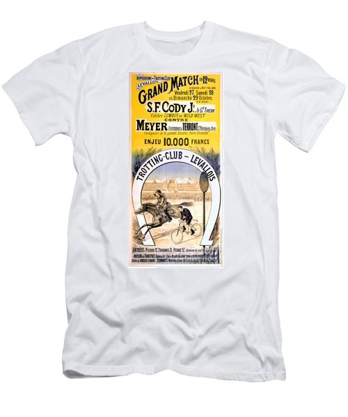 Hippodrome Du Trotting Club Levallois Men's T-Shirt (Athletic Fit)
