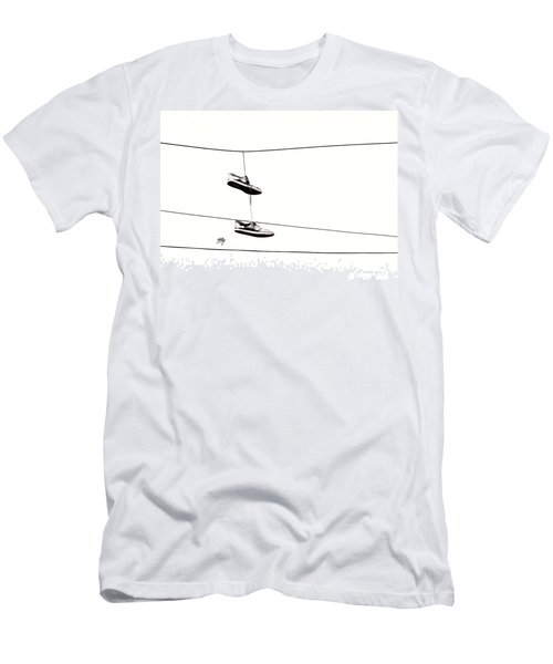 Men's T-Shirt (Slim Fit) featuring the photograph His by Linda Hollis