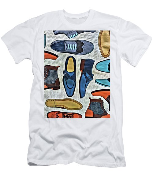 His Shoes Men's T-Shirt (Athletic Fit)