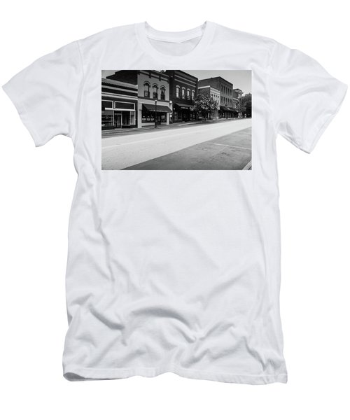 Historic Buford Downtown Area Men's T-Shirt (Athletic Fit)