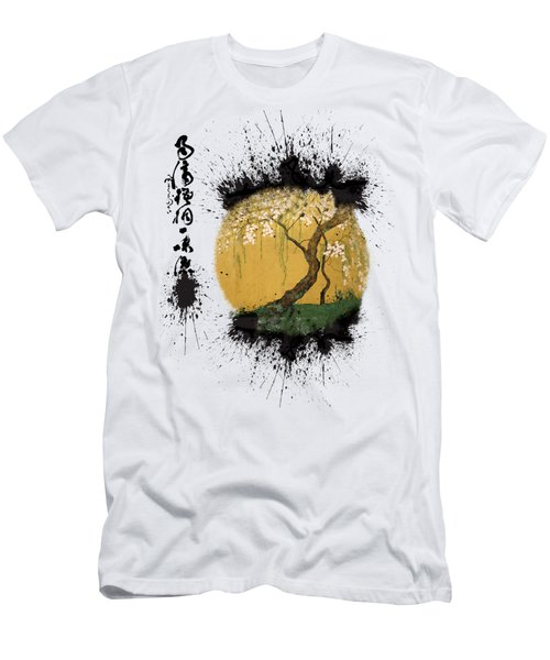 Hoitsu Tesshu Splatter  Men's T-Shirt (Athletic Fit)