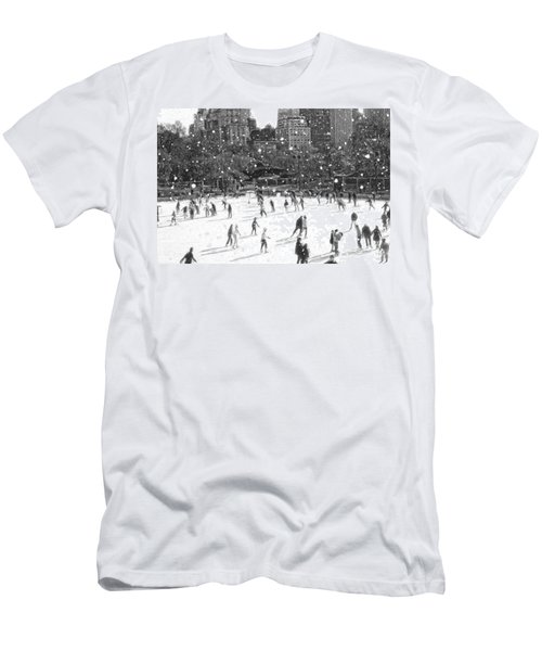 Holiday Skaters Men's T-Shirt (Athletic Fit)