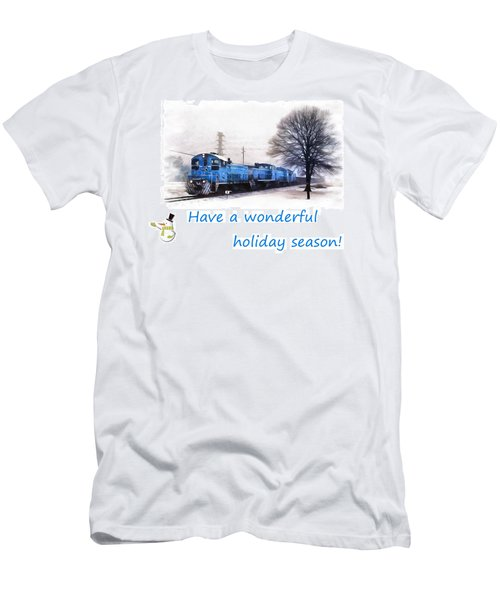 Holiday Train Men's T-Shirt (Athletic Fit)