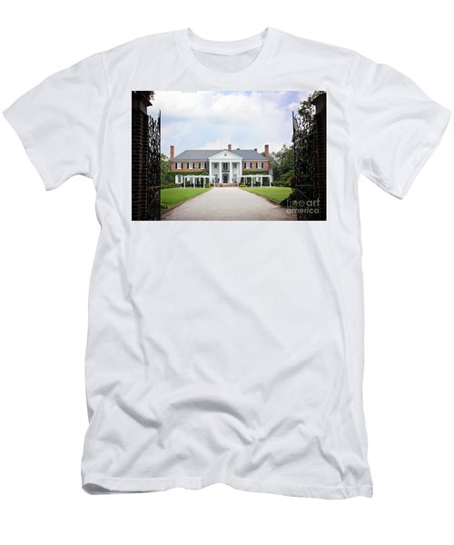 Home At Boone Hall Men's T-Shirt (Athletic Fit)