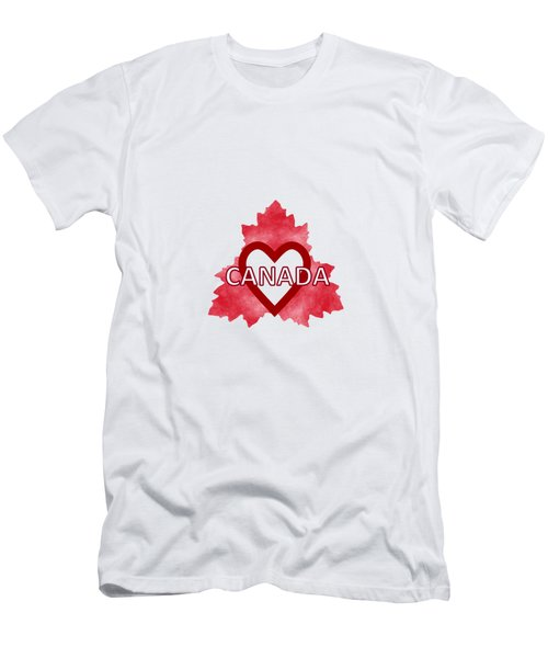 Home Sweet Canada Men's T-Shirt (Slim Fit)