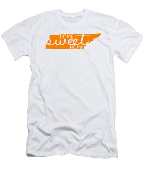 Men's T-Shirt (Slim Fit) featuring the digital art Home Sweet Home Tennessee by Heather Applegate