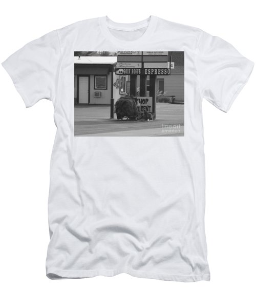Homeless Hoarder Men's T-Shirt (Athletic Fit)