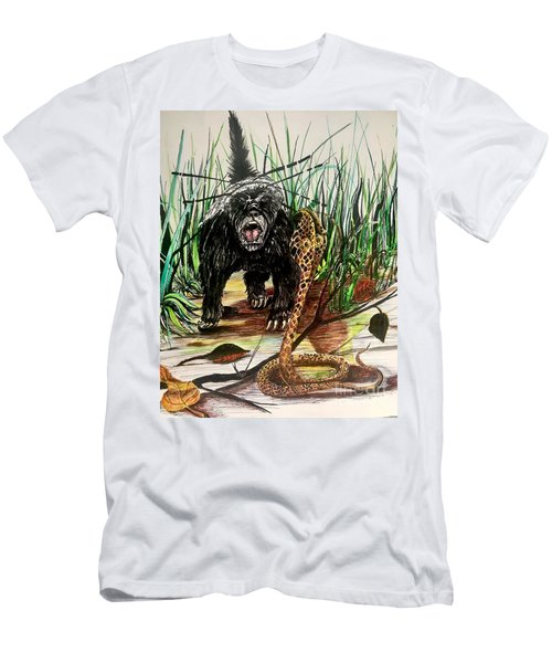 Honey Badger Men's T-Shirt (Athletic Fit)