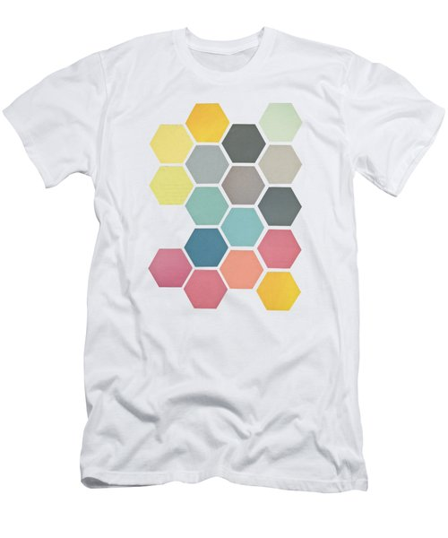 Honeycomb II Men's T-Shirt (Athletic Fit)