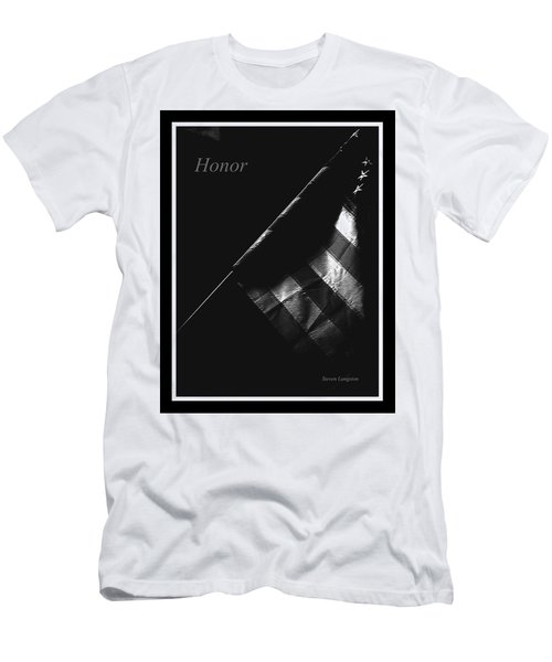 Honor Men's T-Shirt (Slim Fit) by Steven Lebron Langston