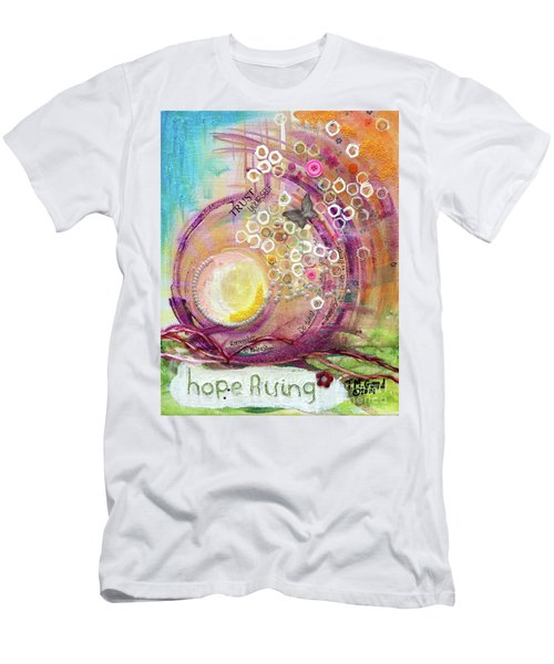 Hope Rising Men's T-Shirt (Athletic Fit)