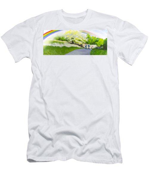 Hopeful Sojourn Men's T-Shirt (Athletic Fit)