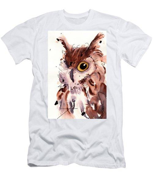 Horned Owl Men's T-Shirt (Athletic Fit)