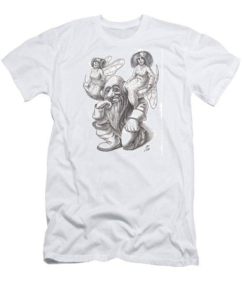 Horns Men's T-Shirt (Athletic Fit)