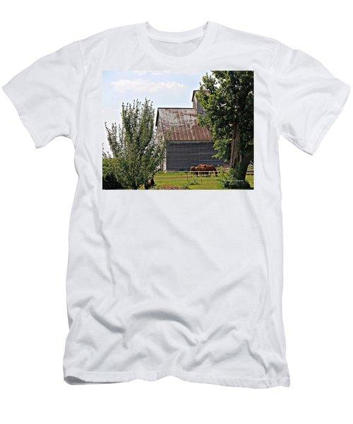 Horse Haven Men's T-Shirt (Athletic Fit)