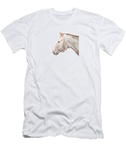 Horse Portrait I Men's T-Shirt (Athletic Fit)