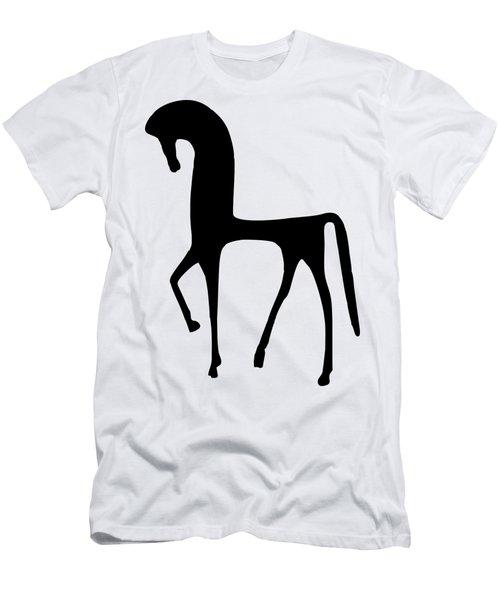 Horse Transparent Men's T-Shirt (Athletic Fit)