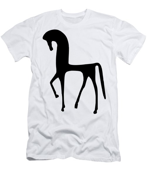 Men's T-Shirt (Athletic Fit) featuring the digital art Horse  by Donna Mibus