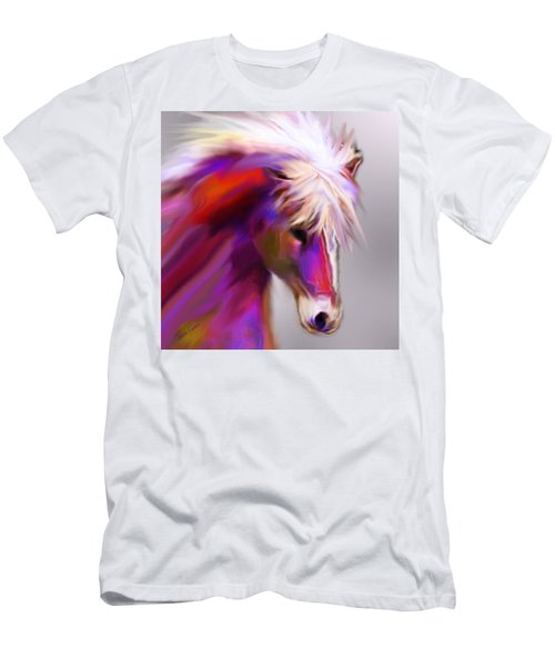 Horse True Colors Men's T-Shirt (Athletic Fit)