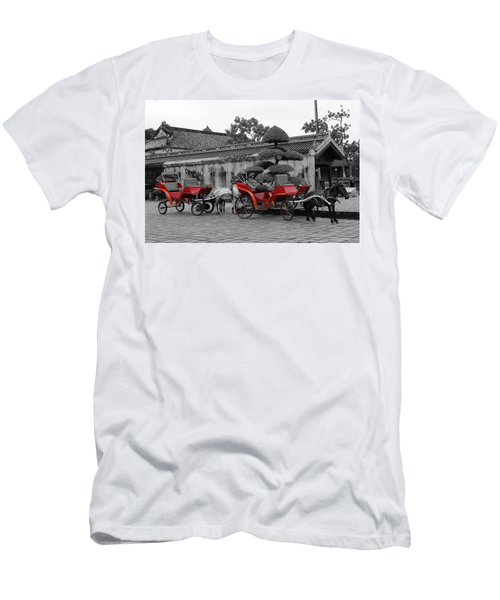 Horses And Carriages Men's T-Shirt (Athletic Fit)