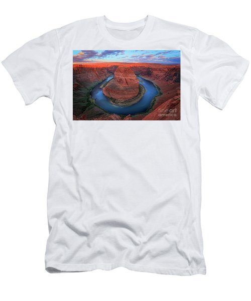 Horseshoe Bend Sunrise Men's T-Shirt (Athletic Fit)