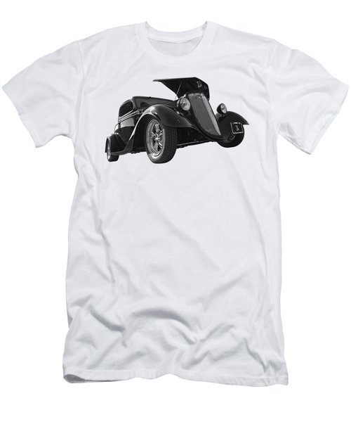 Hot '34 In Black And White Men's T-Shirt (Athletic Fit)