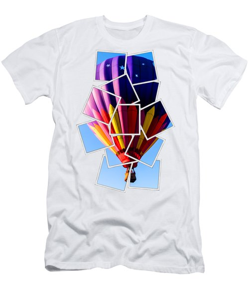 Hot Air Ballooning Tee Men's T-Shirt (Athletic Fit)