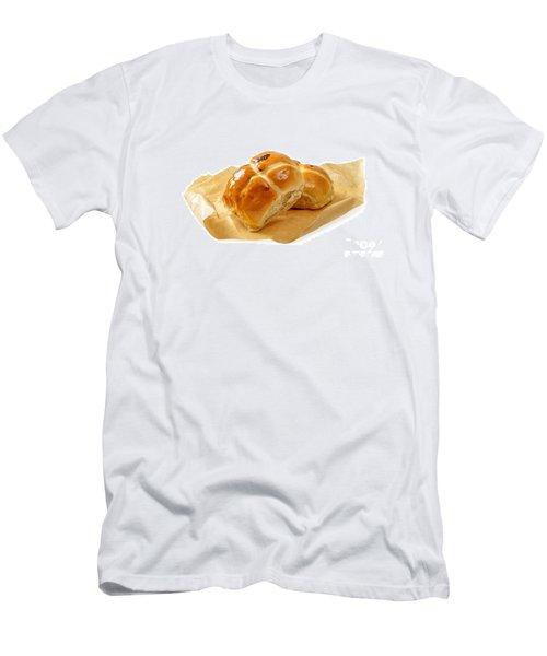Hot Cross Buns Men's T-Shirt (Athletic Fit)