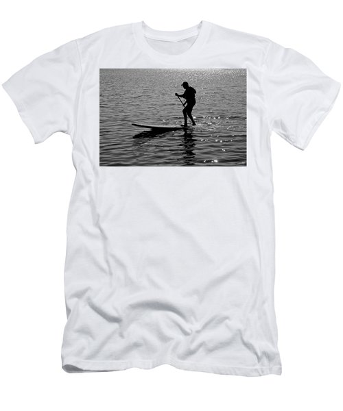 Hot Moves On A Sup Men's T-Shirt (Athletic Fit)