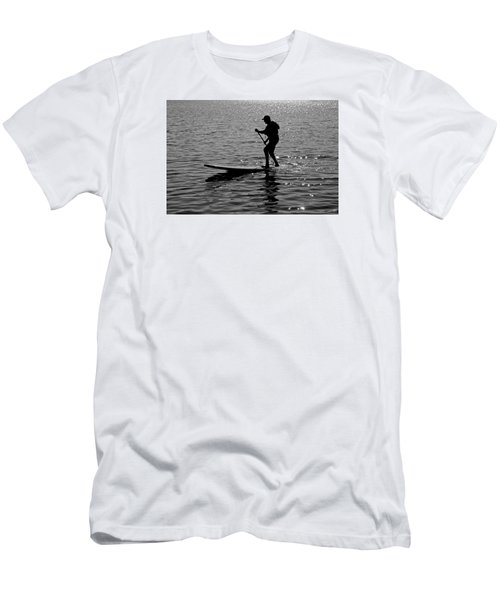 Hot Moves On A Sup Men's T-Shirt (Slim Fit)
