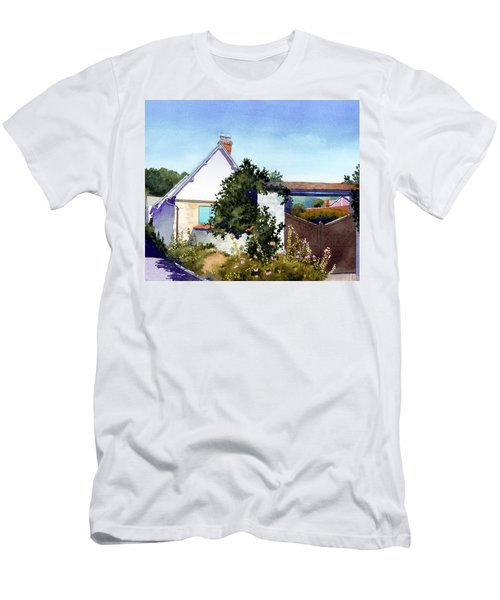 House At Giverny Men's T-Shirt (Athletic Fit)