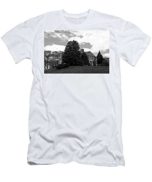 House On The Hill Men's T-Shirt (Slim Fit) by Jose Rojas