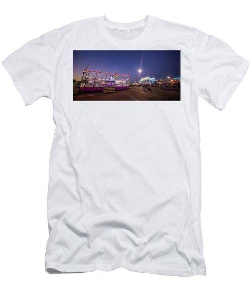Houston Texas Live Stock Show And Rodeo #12 Men's T-Shirt (Slim Fit) by Micah Goff