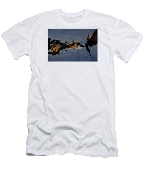 Men's T-Shirt (Slim Fit) featuring the photograph How Is It That You Forget? by Danica Radman