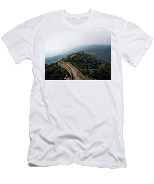 Men's T-Shirt (Athletic Fit) featuring the photograph Huairou by Lucian Capellaro