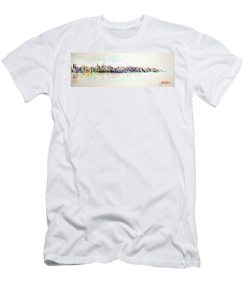 Hudson River View Men's T-Shirt (Athletic Fit)