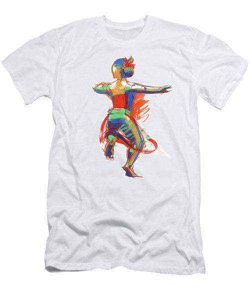 Hula Wahine Ikaika Men's T-Shirt (Athletic Fit)