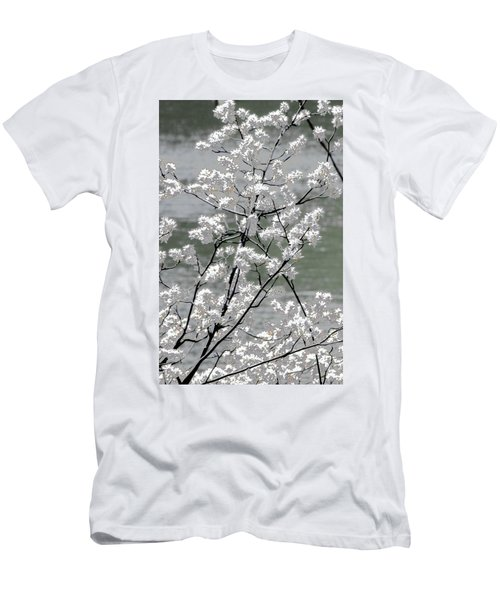 Men's T-Shirt (Athletic Fit) featuring the photograph Hummingbird by EDi by Darlene