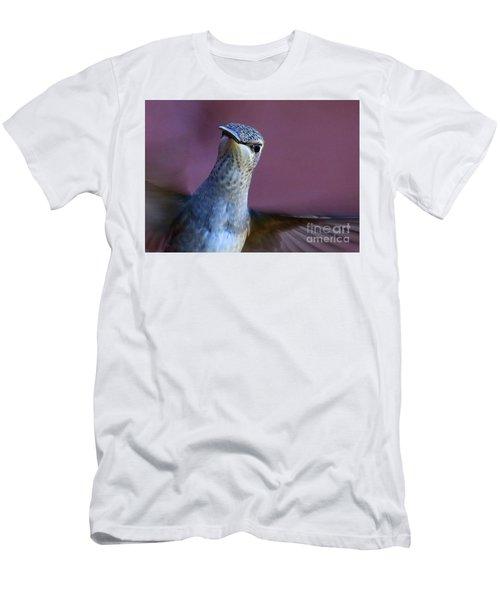 Hummingbird Encounter Men's T-Shirt (Athletic Fit)