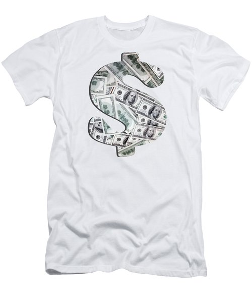 Hundred Dollar Bills Men's T-Shirt (Athletic Fit)