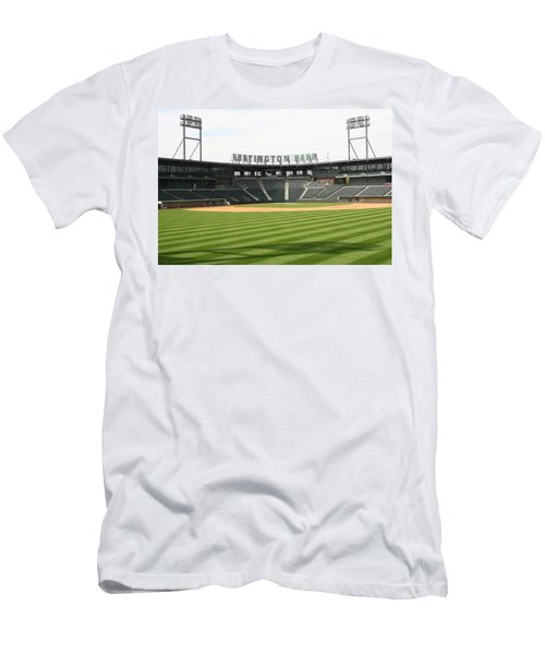 Huntington Park Baseball Field Men's T-Shirt (Athletic Fit)