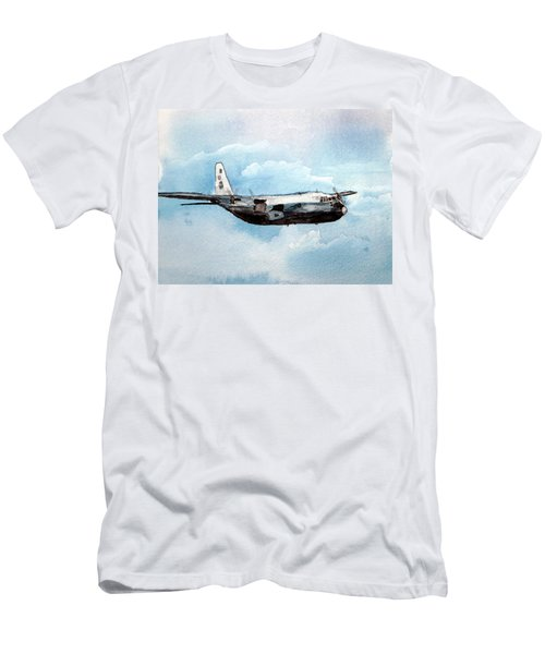Hurricane Hunter Men's T-Shirt (Slim Fit) by R Kyllo