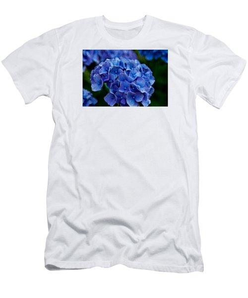 Hydrangea  Men's T-Shirt (Slim Fit) by Dennis Eckel